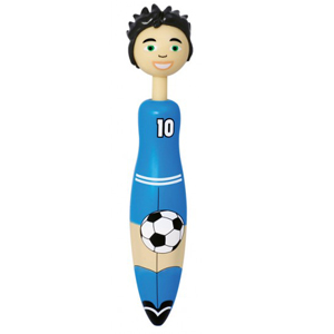 Soccer player pen